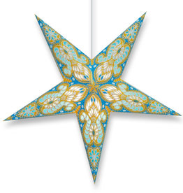 Star Lamp Phoebe in Turquoise and Yellow WP