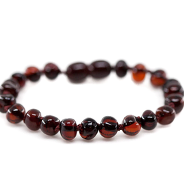 Bracelet Amber - Adult Baroque Cherry MG