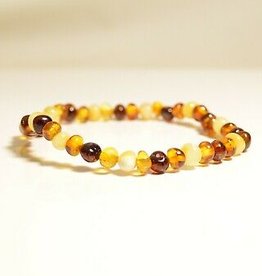 Bracelet Amber - Adult Baroque Multi MG