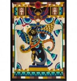 Tapestry Cotton Egyptian Cat KE