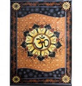 Tapestry Natural Om Lotus KE