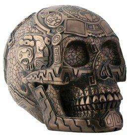 Skull Bronze Aztec PG