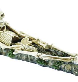 """I.B Skeleton Laying Down 12"""" DK"""