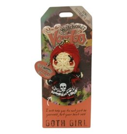 Voodoo Doll Goth Girl VD