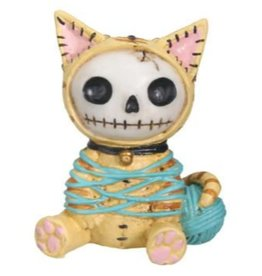 Figurine Furry Bones- Mao Mao Yellow (Cat) PG