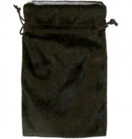 Bag Tarot Black Velvet Bag W/Silver Lining KE