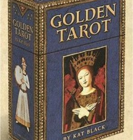 Deck- Golden Tarot USG
