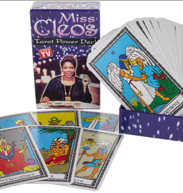 Deck Miss Cleo's Tarot Power Deck USED MISC