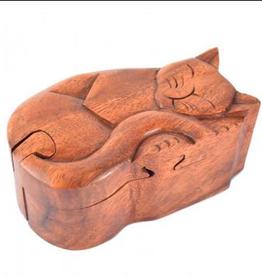 Box Sleeping Cat Puzzle BEN