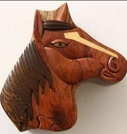Puzzle Box Horse Head HCFT