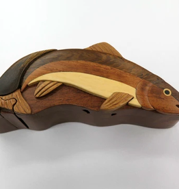 Puzzle Box Rainbow Trout HCFT