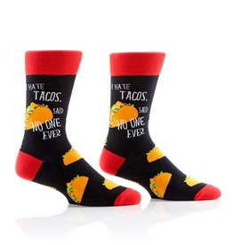 Socks- Taco Lover Men's Crew GC