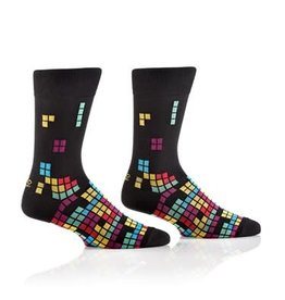 Socks- Tetromino Men's Crew GC