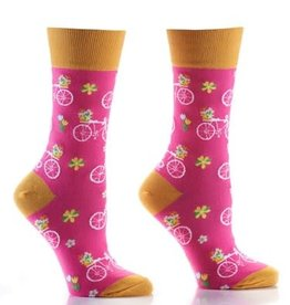 Socks- Flower Power Women's Crew GC Discontinued