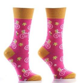 Socks- Flower Power Women's Crew GC