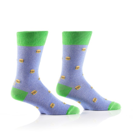 Socks- Mini Burgers Men's Crew GC Discontinued