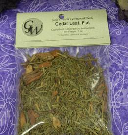 Cedar Leaf Flat Cut/Sifted