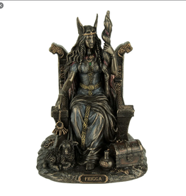 Statue Frigga on Throne USI
