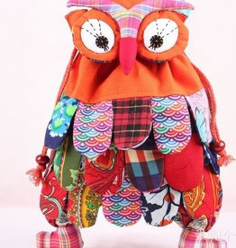 Owl Back Pack Orange CS
