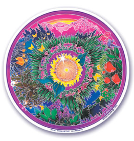 Sticker The Holistic Garden