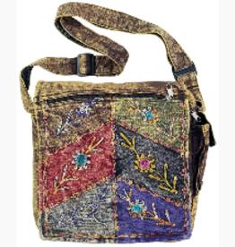 Purse Stone Wash Embroidered BEN