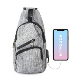 Day Pack Anti-Theft Regular Gray CPL