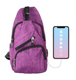 Day Pack Anti-Theft Regular Plum CPL