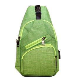 Day Pack Anti Theft Apple Green CPL