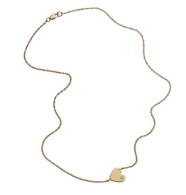 "Jennifer Zeuner Mia 1/2"" Necklace"