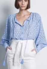 Karina Grimaldi Sami Shirt - Lt Blue