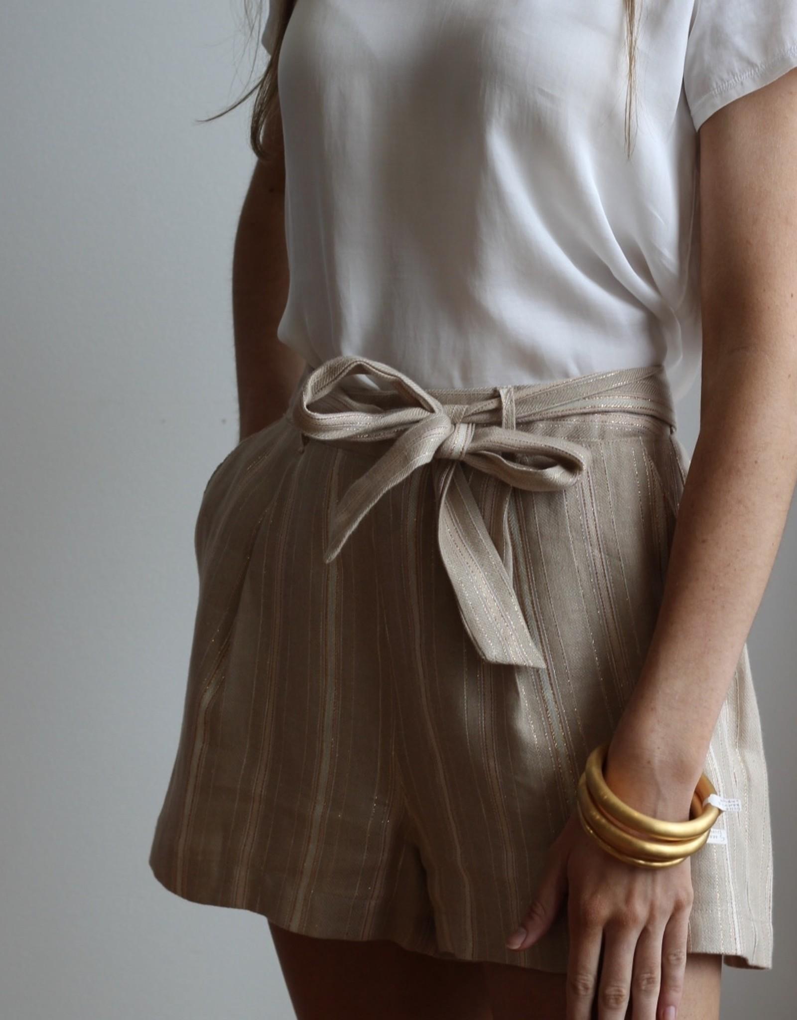 Maven West Belted Shorts