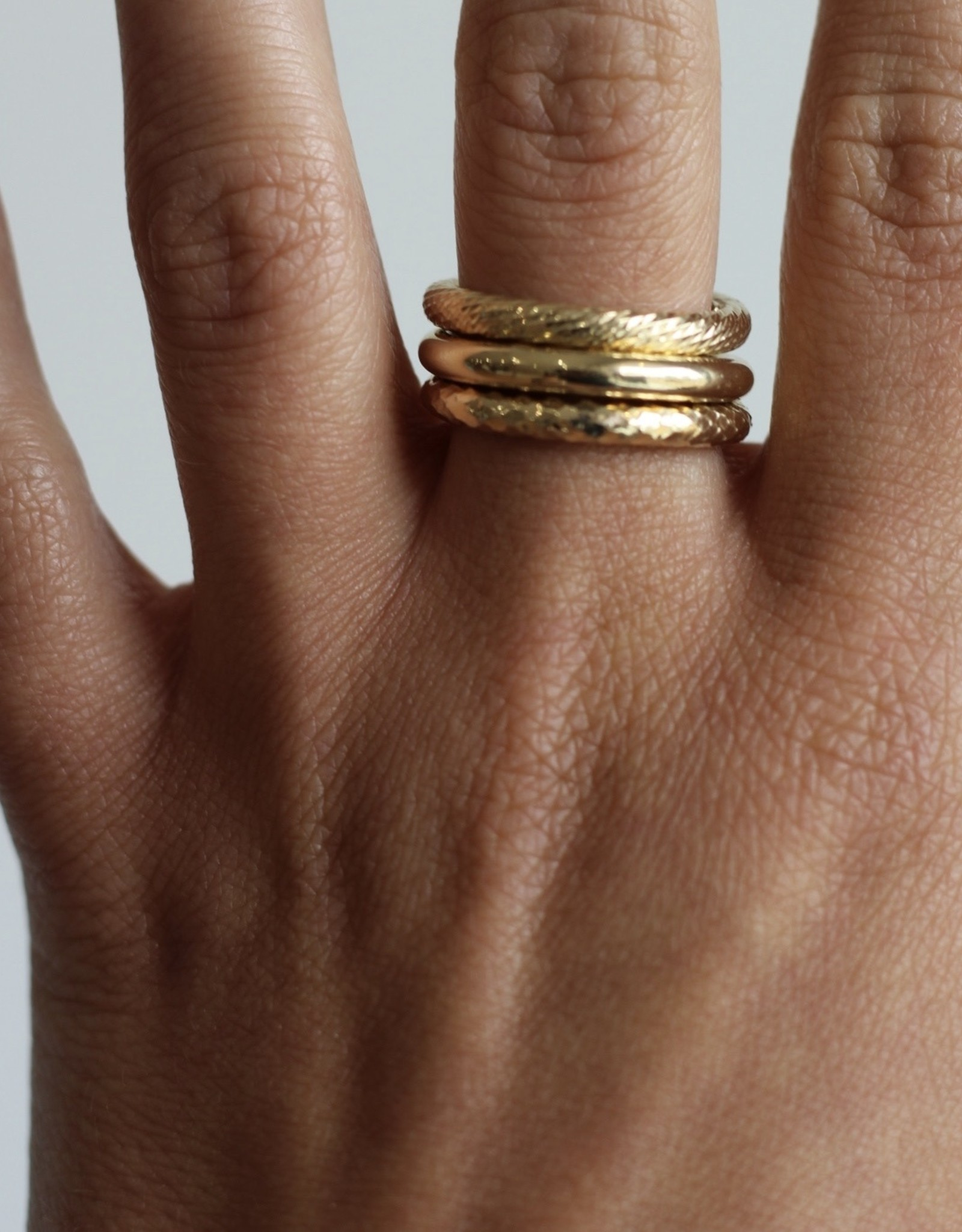 Jennifer Zeuner Wes Ring Stack