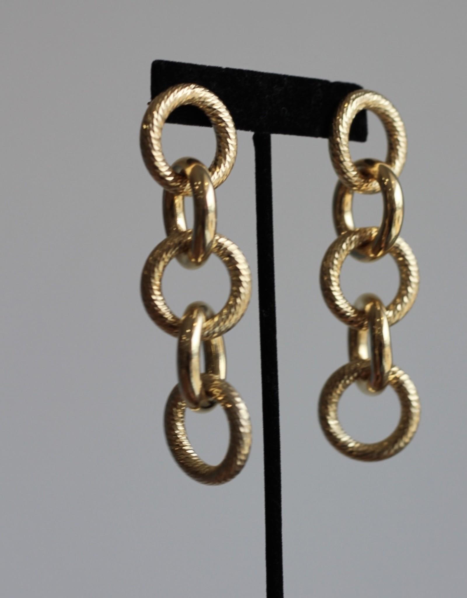 Jennifer Zeuner Winston Earrings - Gold