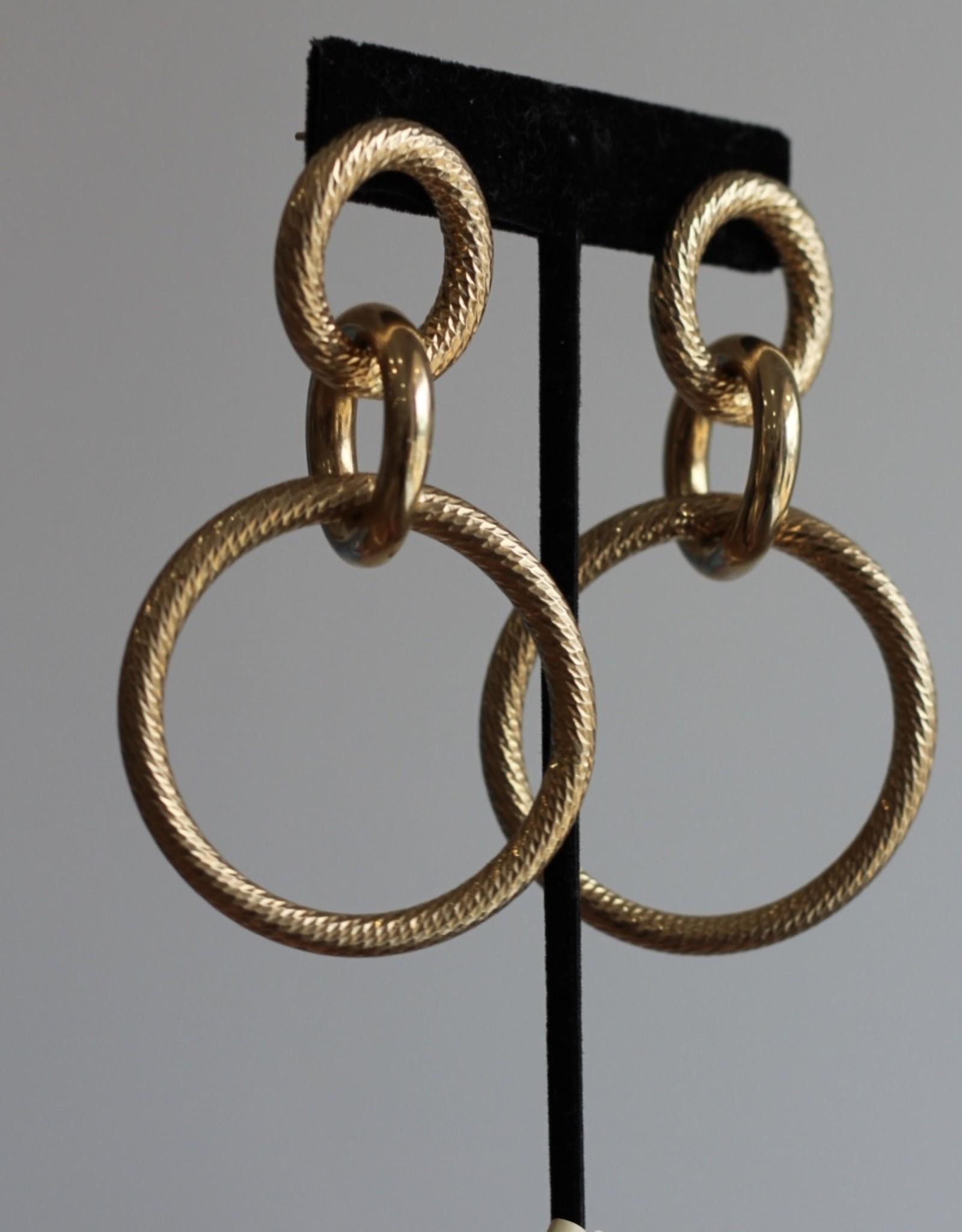 Jennifer Zeuner Wes Earrings - Gold Vermeil