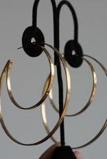 Jennifer Zeuner Zuma Hoops-Gold