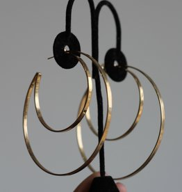 Jennifer Zeuner Zuma Hoops-Gold