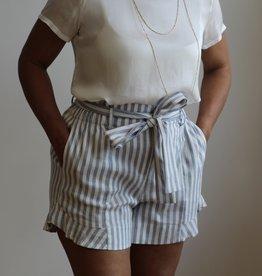 Melissa Nepton MN Sailor Short Blue Stripe