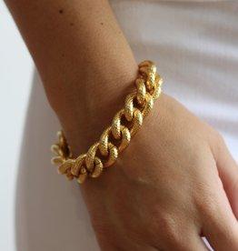 Ben-Amun Ridged Chain Bracelet