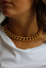 Ben-Amun 91439 Ridged Chain Necklace