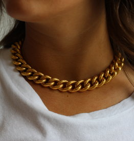 Ben-Amun 91439 Ridged Chain Necklace