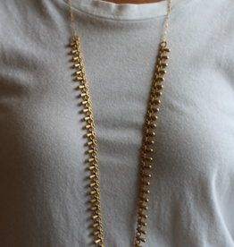 Brave Brave Gold Drop Chain - Long