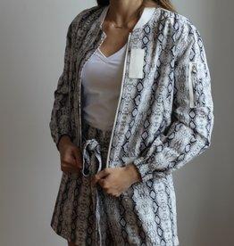 SEN Roxanne Bomber Jacket