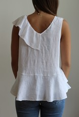 Velvet Heart Karissa Sleeveless White Top