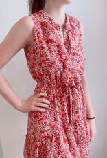MISA Eba Dress - Rust Floral
