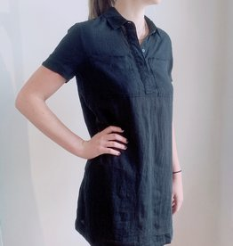 James Perse JP Linen Pocket Shirt Dress