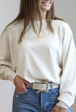 Deluc Rainey Cream Sweater