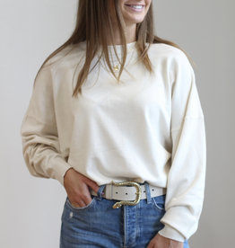 Deluc Rainey Cream Sweater