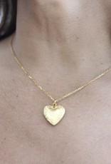 Ben-Amun 11747 Gold Smallheart Locket Necklace