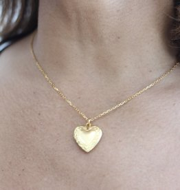 Ben-Amun 11747 Gold Smallheart Locket Necklace