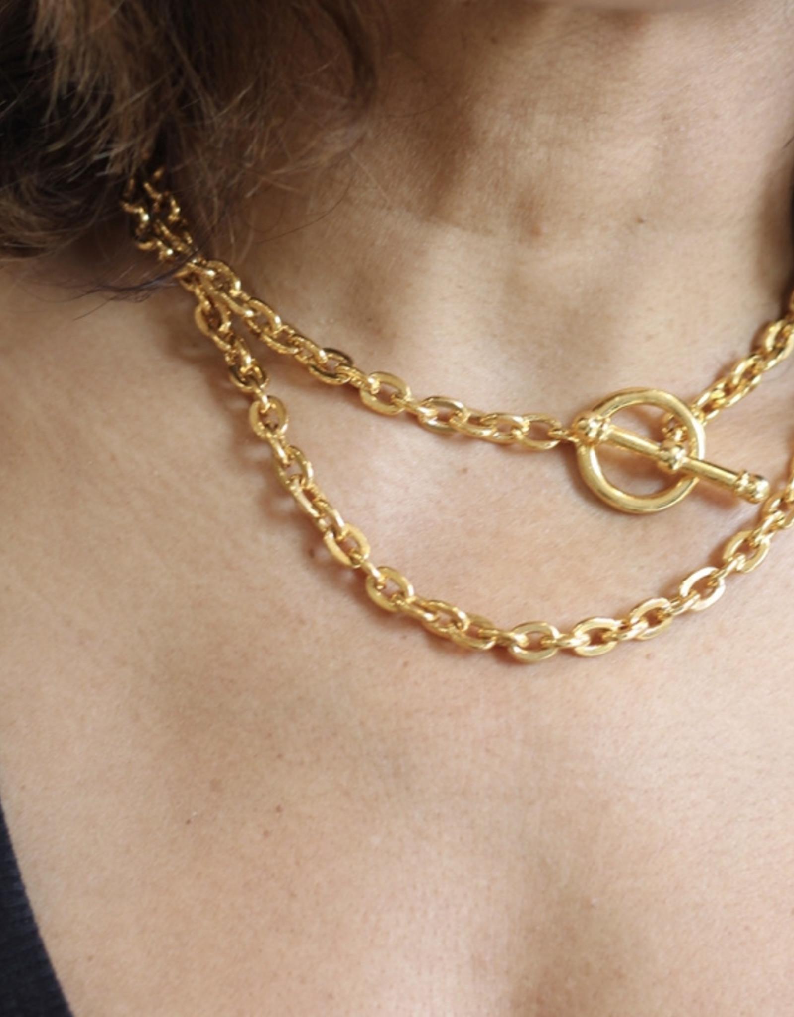 Ben-Amun 20671 Gold Chain Y Necklace